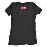 100% Apparel Collection Women's T-Shirt - LiVit BOLD - 3 Colors - LiVit BOLD