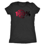 100% Apparel Collection Women's T-Shirt (Half Light Half Dark Style) - LiVit BOLD - 2 Colors - LiVit BOLD