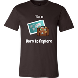 LiVit BOLD Canvas Men's Shirt - Born to Explore - LiVit BOLD