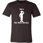 LiVit BOLD Canvas Men's Shirt -Our Real Heroes - Army Style - LiVit BOLD