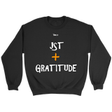 Just Add Gratitude Unisex Crewneck Sweatshirt - LiVit BOLD - 7 Colors - LiVit BOLD