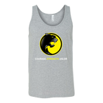 Pantherlete Athletics Unisex Tank - Grey - LiVit BOLD