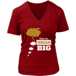 Dare To Dream BIG Two Tone - Women's T-Shirt - 7 Colors - LiVit BOLD