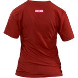 100% Apparel Collection Women's T-Shirt - LiVit BOLD - 5 Colors - LiVit BOLD