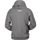 CONFIDENT Front and Back Print Unisex Hoodie - 12 Colors - LiVit BOLD - LiVit BOLD