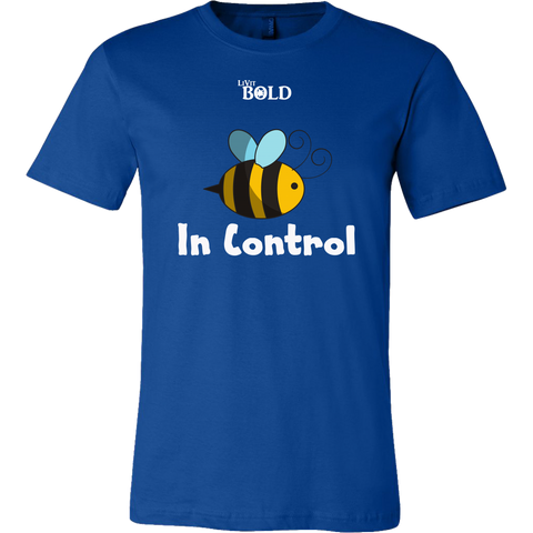Be In Control Men's T-Shirt - LiVit BOLD - LiVit BOLD