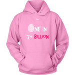 One In 7 Plus Billion - Women's Hoodie - 8 Colors - LiVit BOLD - LiVit BOLD