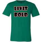 Color-Up Men's LiVit BOLD T-Shirt - 12 Colors - LiVit BOLD