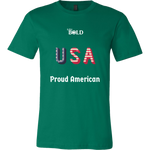 LiVit BOLD Canvas Men's Shirt - Proud American - LiVit BOLD