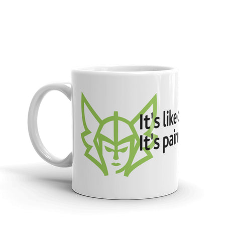 Pain Chess Coffee Mug - Green