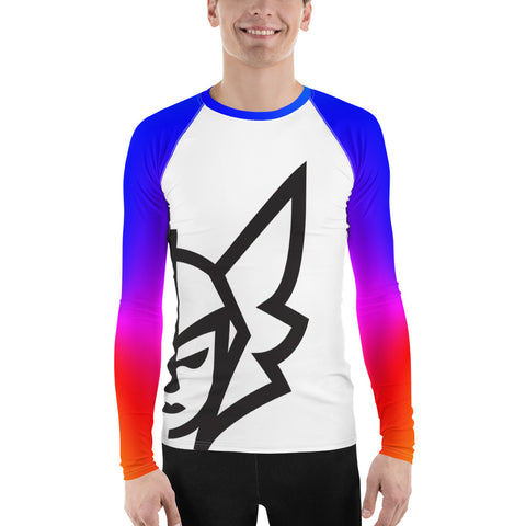 Rainbow Rash Guard - White