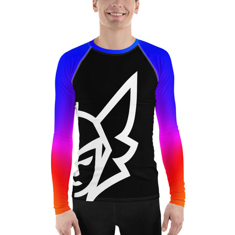 Rainbow Rash Guard - Black