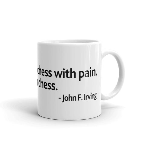 Pain Chess Coffee Mug - Orange
