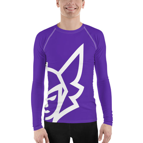 Purple Rash Guard