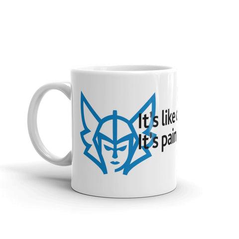 Pain Chess Coffee Mug - Blue