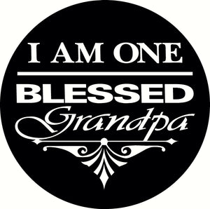 Blessed Grandpa (Car & Wall Decal)