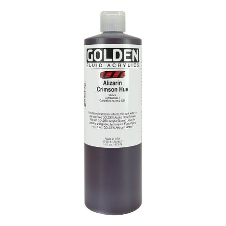Golden Fluid Acrylic in 16 Ounce Bottles