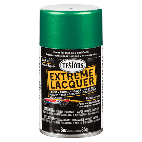 Testors Extreme (one coat) Spray Lacquers
