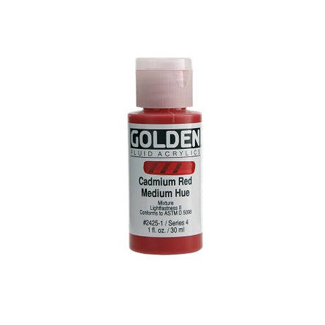 Golden Fluid Acrylics 1 Ounce Bottles