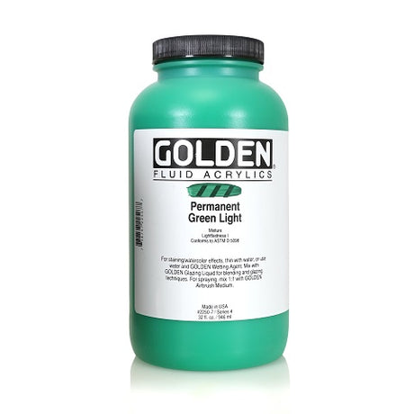 Golden Fluid Acrylics in 32 Ounce Jars