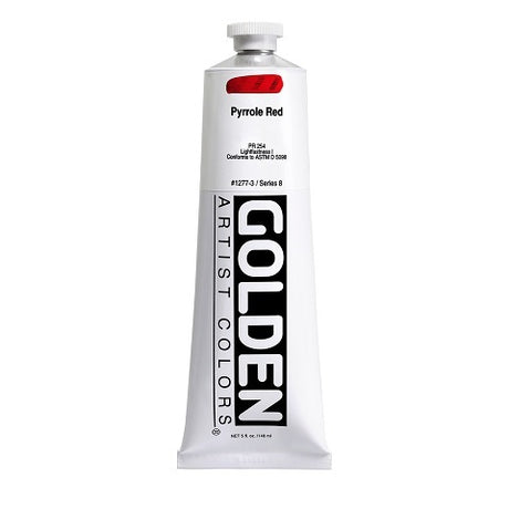 Golden Heavy Body Body Acrylics in 5 Ounce Tubes