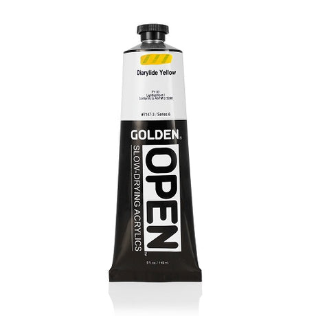 Golden Open Acrylics in 5 ounce tubes