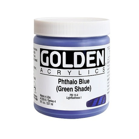 Golden Heavy Body Acrylics in 8 Ounce Jars