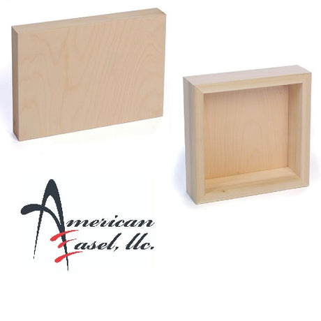 American Easel Cradled Wood Art Panels