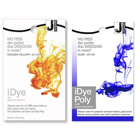 iDye Textile Dyes for Natural and Polyester Fabrics