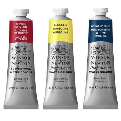 Winsor & Newton Professional Watercolor in 37 ml Tubes