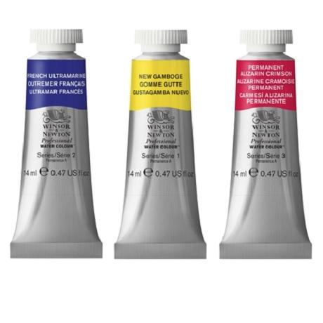 Winsor & Newton Professional Watercolors in 14 ml Tubes