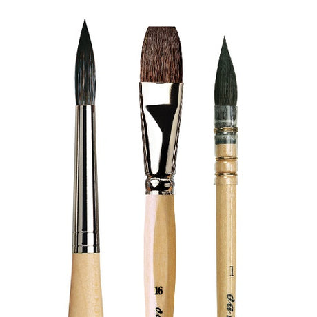 da Vinci Petit Gris (squirrel hair) Watercolor Brushes