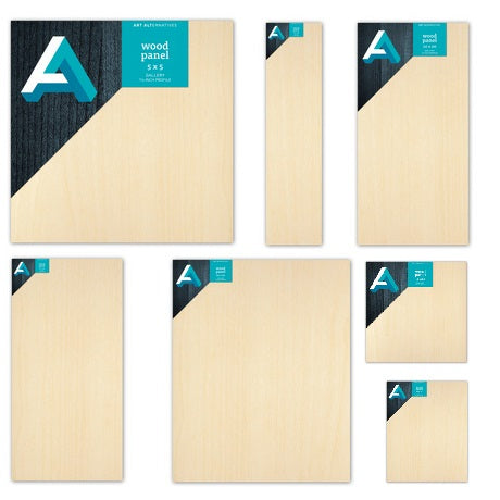 Art Alternatives 1-1/2 inch Profile Cradled Birch Wood Panels