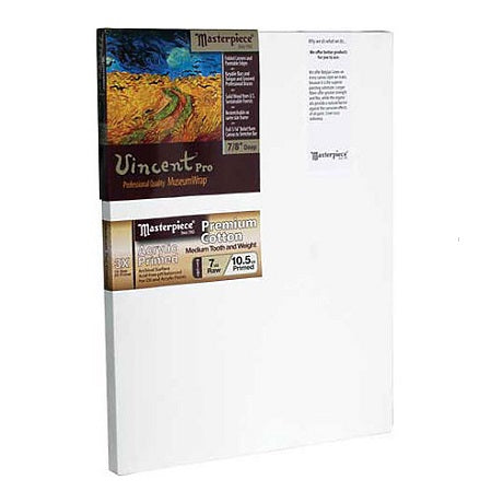 "Masterpiece Vincent Pro 7/8"" Profile Stretched Canvas"