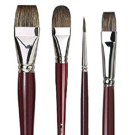 da Vinci Russian Black Sable (Fitch) Oil Brushes