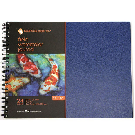 Watercolor Pads, Field Books and Journals