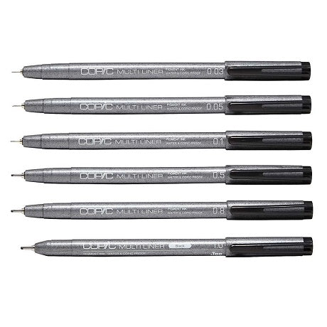 Copic Multiliner Fineliner Pens
