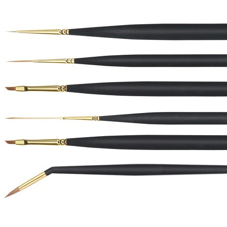 Princeton 3050 Series Mini-detailer Brushes