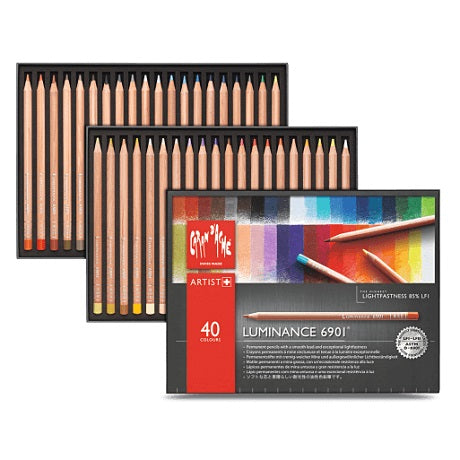 Caran d'Ache Luminance Colored Pencils