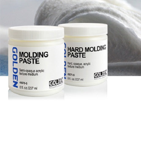 Acrylic Molding Pastes and Texture Pastes