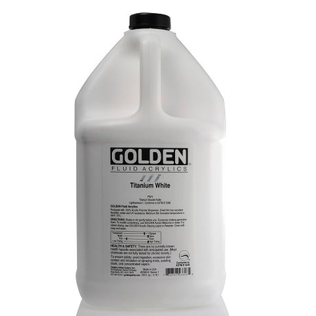 Golden Fluid Acrylics in 128 Ounce (gallon) Jugs