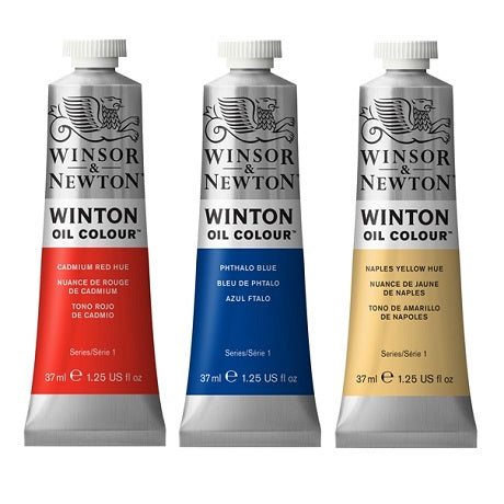 Winsor & Newton Winton Oils in 37 ml Tubes