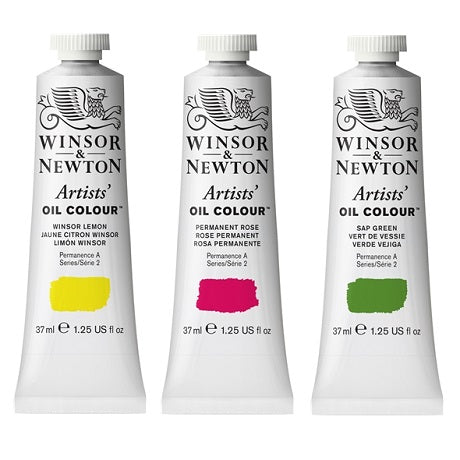 Winsor & Newton Professional Artists' Oil Colors in 37 ml Tubes