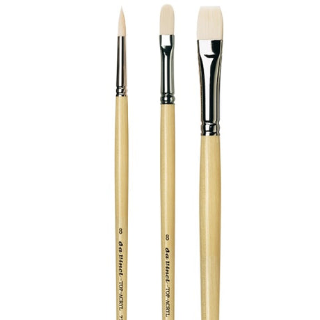 da Vinci Top Acryl Brushes for Acrylics and Oils