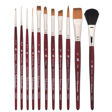 Princeton Series 3950 Velvetouch Mixed Media Brushes