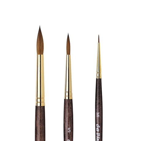 da Vinci Series 1526 Harbin Kolinsky Sable Watercolor Brushes
