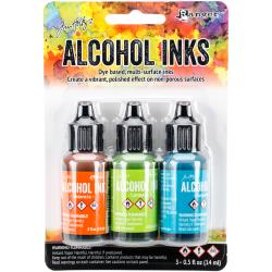 Tim Holtz Alcohol Ink Set of 3 - Spring Break Set