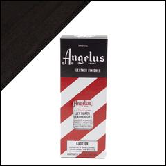 Angelus Leather Dye 3 fl oz (88.7 ml) - Jet Black