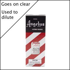Angelus Leather Dye 3 fl oz (88.7 ml) - Neutral (for diluting)