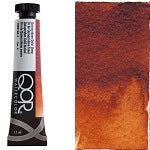 Golden QoR Watercolor 11 ml - Quinacridone Gold Deep